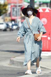 Sarah Paulson - Furniture Shopping in Los Angeles 07/30/2020