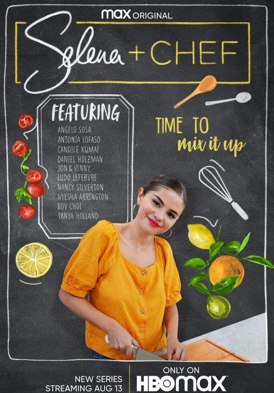 "Selena Gomez - ""Selena + Chef"" Promos 2020"