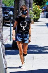 Selma Blair - Out in Studio City 07/31/2020