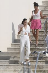 Shanina Shaik at the Hotel Du Cap Eden Roc in France 08/01/2020