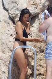 Shanina Shaik - Enjoying The Sun Poolside in Antibes 08/01/2020