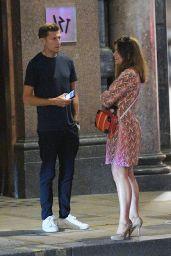 Susanna Reid With Steve Parish in London 08/20/2020