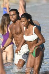 Tina Kunakey in a Bikini on Holiday in Mykonos Island 08/06/2020