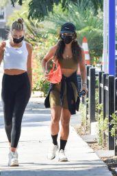 Vanessa Hudgens in Workout Gear - Los Angeles 08/24/2020