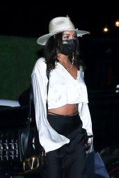 Vanessa Hudgens Night Out Style - Leaving Nobu in LA 08/08/2020