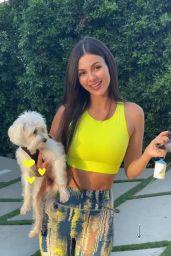 Victoria Justice - Social Media Photos and Videos 08/28/2020