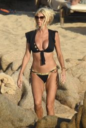 Victoria Silvstedt - Relaxing at Her Hotel in Porto Cervo 08/21/2020