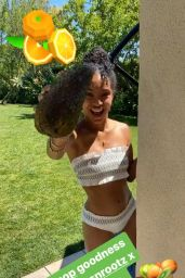 Yara Shahidi - Social Media Photos and Videos 08/26/2020