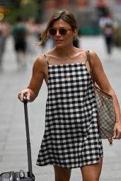 Zoe Hardman - Leaving Global Radio Studios in London 08/07/2020
