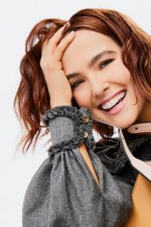 "Zoey Deutch - Fendi ""Peekaboo ISeeU"" Campaign Photoshoot 2020"