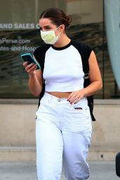 Addison Rae in Casual Outfit in Beverly Hills 09/15/2020