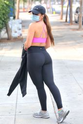 Addison Rae - Leaving a Orivate Workout in West Hollywood 09/15/2020