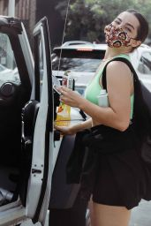 Addison Rae - Leaving a Workout at Dogpound West Hollywood 09/18/2020
