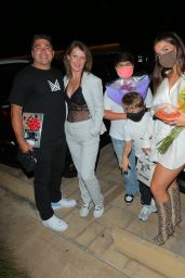 Addison Rae Night Out Style - Celebrates Her Mom