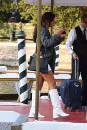Adele Exarchopoulos - Arriving at Hotel Excelsior in Venice 09/04/2020
