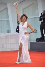 """Alba Parietti - """"Le Sorelle Macaluso"""" Premiere at the 77th Venice Film Festival"""