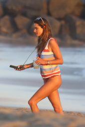 Alessandra Ambrosio - Beach in Malibu 09/23/2020