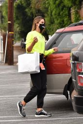 Alessandra Ambrosio in Casual Outfit - Country Mart in Brentwood 09/12/2020