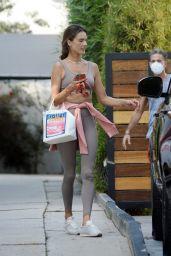 Alessandra Ambrosio - Leaving a Gym in LA 09/21/2020