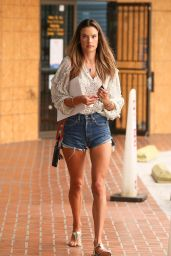 Alessandra Ambrosio - Out in Brentwood 09/10/2020