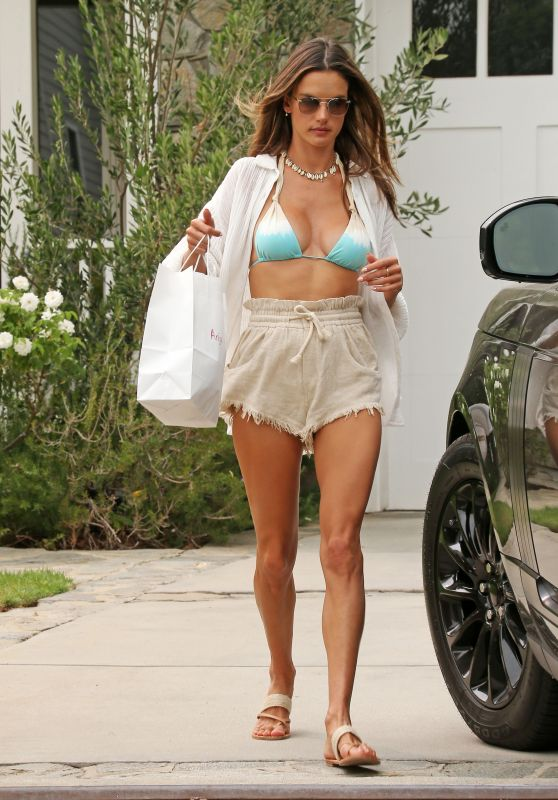 Alessandra Ambrosio - Out in Los Angeles 09/12/2020