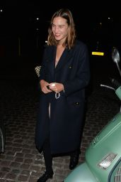 Alexa Chung - Chiltern Firehouse in London 09/17/2020