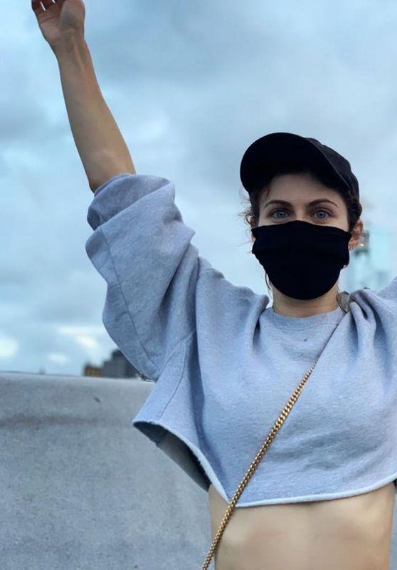 Alexandra Daddario - Social Media Photos 09/14/2020