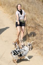 Alicia Silverstone - Hike in Los Angeles 09/26/2020