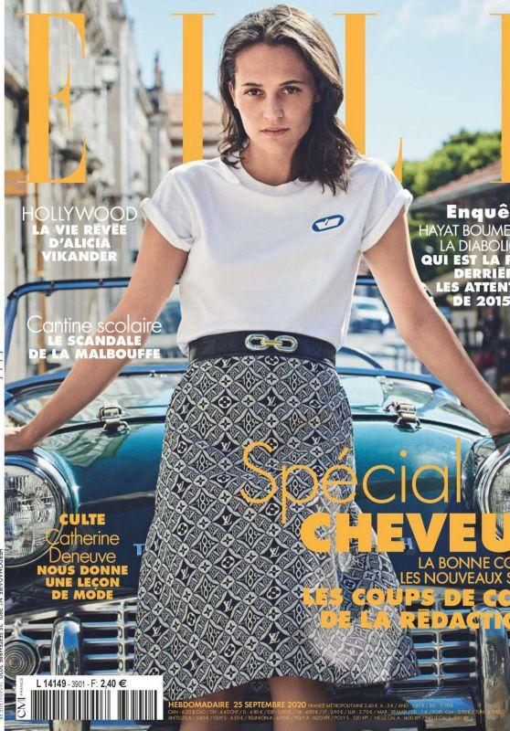 Alicia Vikander - ELLE France 09/25/2020 Issue