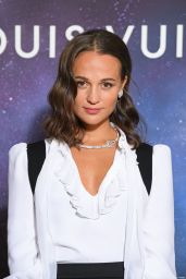 Alicia Vikander - Louis Vuitton Stellar Jewelry Cocktail Event in Paris 09/28/2020