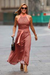 Amanda Holden in Tight Dress - London 09/07/2020