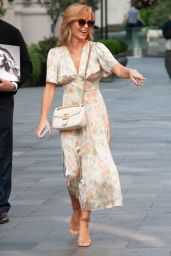Amanda Holden - Leaving Global Studios in Heart Radio in London 09/18/2020