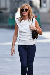 Amanda Holden - Leaving Global Studios in London 09/09/2020