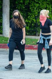 Amber Heard - Hike in Griffith Park in LA 08/31/2020