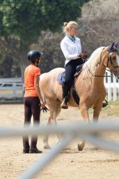 Amber Heard - Horseback Riding in LA 09/14/2020