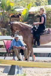 Amber Heard - Horseback Riding in LA 09/23/2020