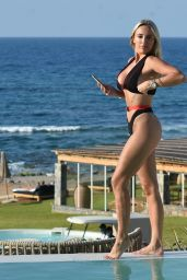 Amber Turner by the Pool in Crete 08/29/2020