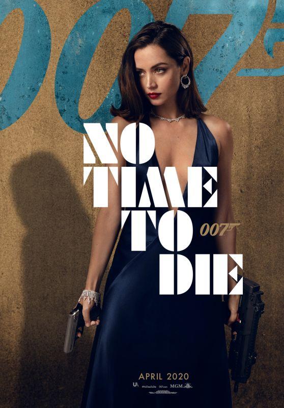 "Ana De Armas - ""No Time to Die"" Poster"