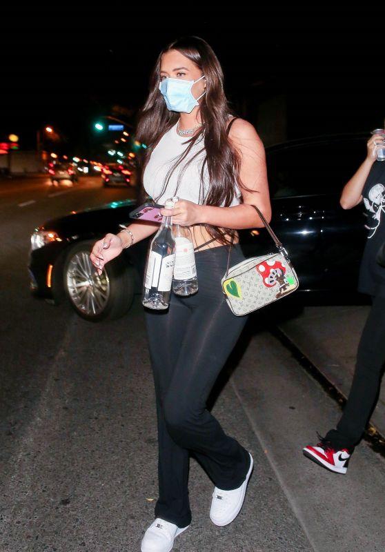 Anastasia Karanikolaou - Leaving Delilah in West Hollywood 09/11/2020