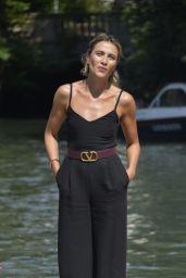 Anna Foglietta – Arriving at Hotel Excelsior in Venice 09/05/2020