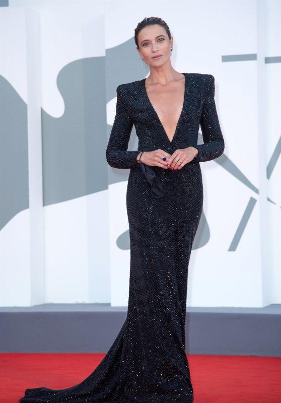 """Anna Foglietta – """"The World To Come"""" Red Carpet at The 77th Venice Film Festival"""