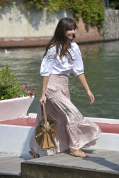 Annabelle Belmondo - Arriving at the Excelsior Hotel in Venice 09/06/2020