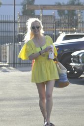 Anne Heche at the DWTS Rehearsal Studio in Hollywood 09/19/2020