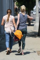 Anne Heche in Casual Outfit - Los Angeles 09/03/2020