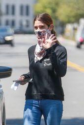 Ashley Greene - Running Errands in Beverly Hills 09/01/2020