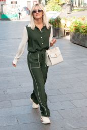 Ashley Roberts Style - Leaving Global Studios Heart Radio in London 09/18/2020