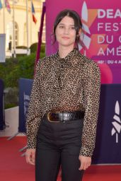 Astrid Berges Frisbey – Les Deux Alfred Premiere at the 46th Deauville American Film Festival
