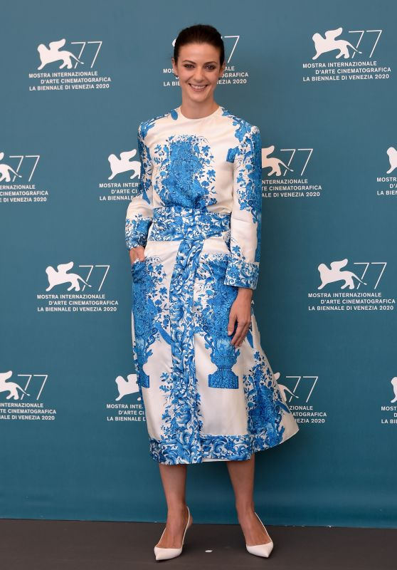 "Barbara Ronchi - ""Padrenostro"" Photocall at the 77th Venice International Film Festival 09/04/2020"