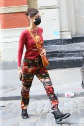 Bella Hadid - Heads to Brooklyn to Shop at Black Lives Matter Charity Event in New York 09/27/2020