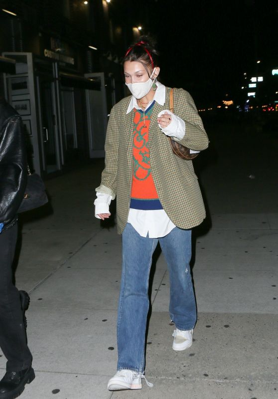 Bella Hadid Style - Out in New York 09/21/2020